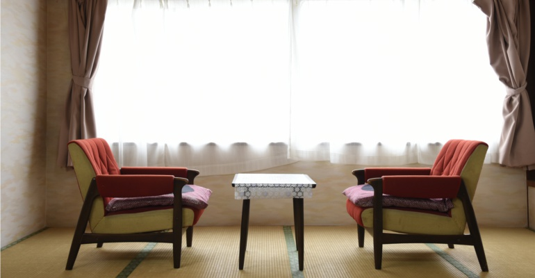 富士広旅館 椅子
