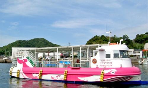 天草グラスボート